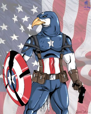 Captain America Eagle by Jaleo